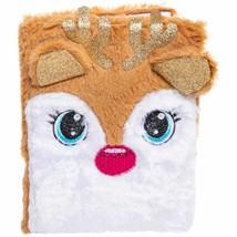 Christmas Fuzzy Reindeer Journal w - $12.99