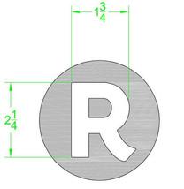 R branding iron - $130.00