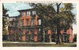 New East Building University North Carolina Durham NC 1946 postcard - $6.93