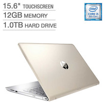 NEW HP Pavilion 15-cc154cl Touchscreen Laptop Notebook Gold 12GB 1TB i5 ... - $679.13