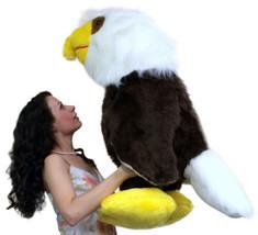 Americano Fatto 0.9m Gigante Peluche Aquila 91.4cm Morbido Big Plush Bir... - $246.66