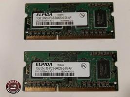 Gateway NV79 NV7915U Elpida 1 Gb 2Rx16 PC3-6400S Ram Memory EBJ11UE6BAU0-8C-E - $17.81