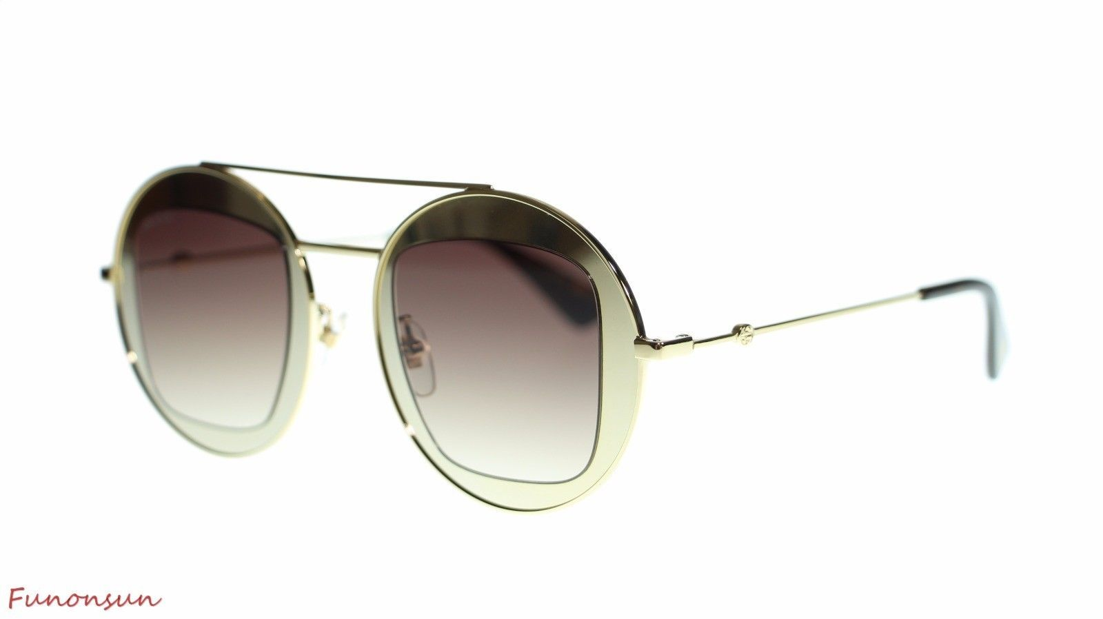c22e83d9190 Gucci Women Round Sunglasses GG0105S 002 and similar items. 10