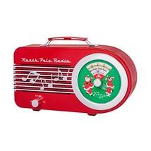 "Mr. Christmas 11"" Santa's Radio Red - $40.44"