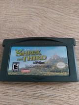 Nintendo Game Boy Advance GBA Shrek The Third image 2