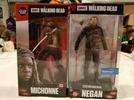 Walking Dead Mcfarlane Action Figure Lot Bundle Michonne Bloody Variant ... - $83.29