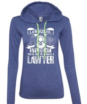 Law School Student Trust Me I'm Almost A Lawyer T Shirt, Job T Shirt (Anvil Ladi - $37.99+
