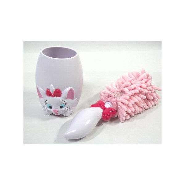 Tokyo Disney Resort Limited Aristocat Marie Riobbn Mop Desk cleaner pink japan image 3