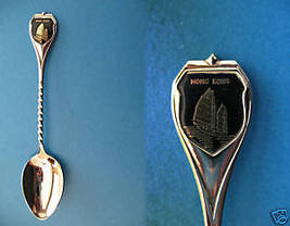 Vintage HONG KONG Traditional JUNK BOAT Souvenir Collector Spoon Collect... - $6.95