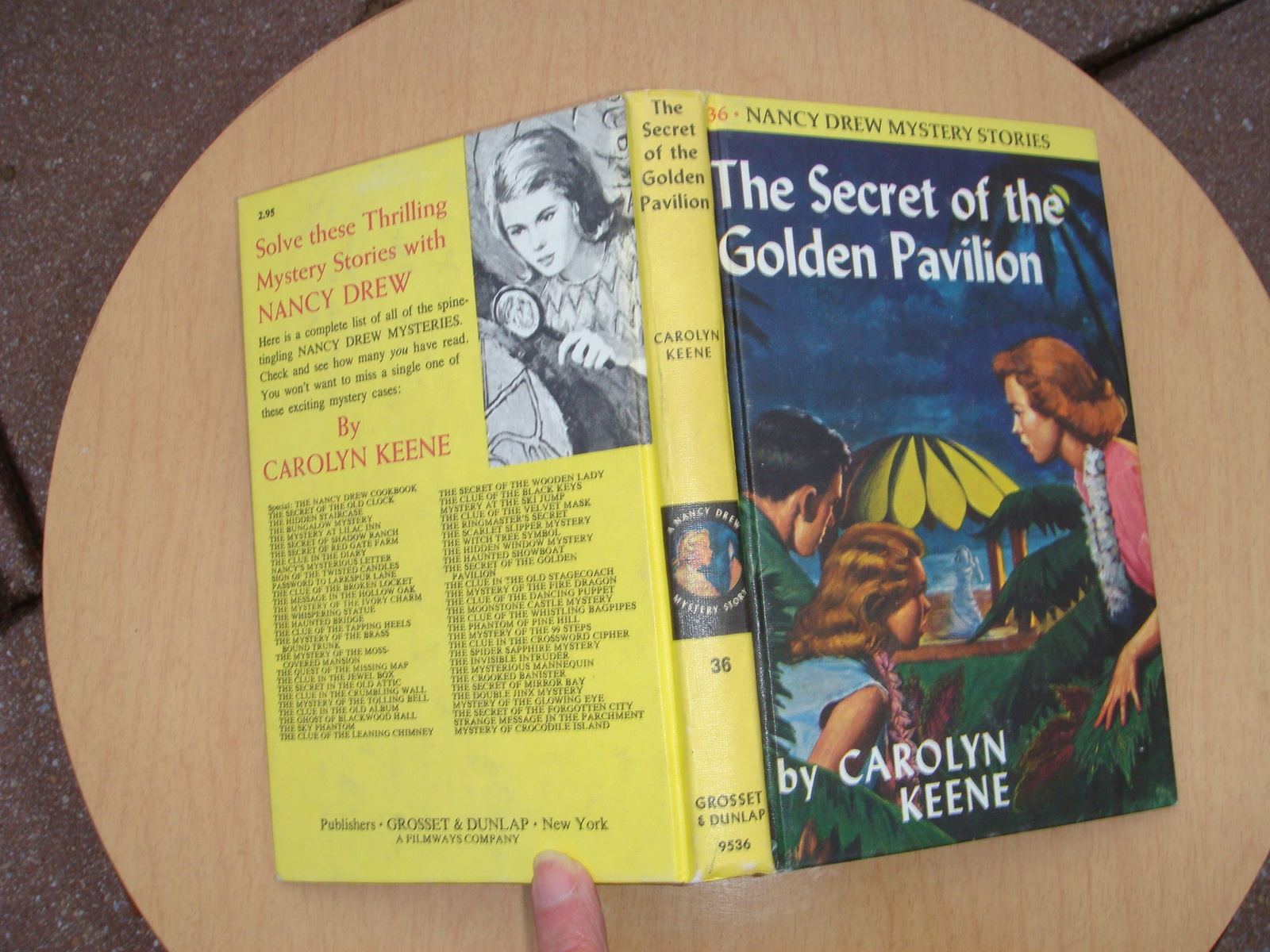 Primary image for Nancy Drew 36 The Secret of the Golden Pavilion LIKE NEW matte PC 1978A-31