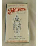 Video Rarities Presents The Superman Cartoons of Max Dave Fleischer VHS - $13.45