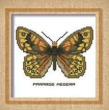 Butterfly Pattern 801 cross stitch chart Pinoy Stitch