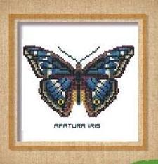 Butterfly Pattern 802 cross stitch chart Pinoy Stitch