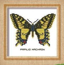 Butterfly Pattern 803 cross stitch chart Pinoy Stitch
