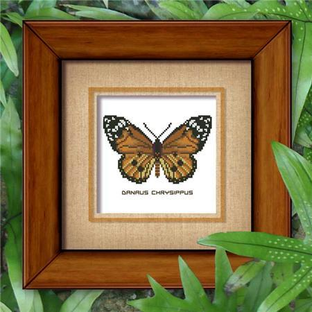 Butterfly Pattern 804 cross stitch chart Pinoy Stitch