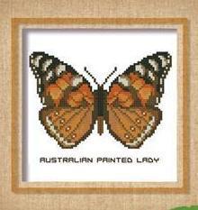 Butterfly Pattern 806 cross stitch chart Pinoy Stitch