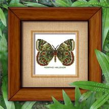 Butterfly Pattern 807 cross stitch chart Pinoy Stitch - $6.30