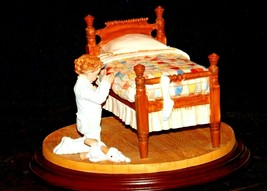 1993 Days to Remember - Norman Rockwell Figurine A Child's Prayer AA19-1612 Vin