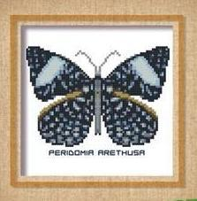 Butterfly Pattern 808 cross stitch chart Pinoy Stitch