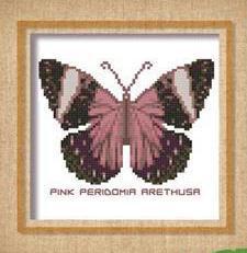 Butterfly Pattern 809 cross stitch chart Pinoy Stitch
