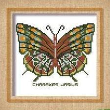 Butterfly Pattern 810 cross stitch chart Pinoy Stitch