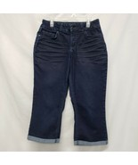Riders By Lee Mid-Rise Bootcut You Are Beautiful Jean Capri Women Size 6/M - $24.50