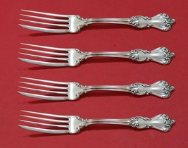 Marlborough by Reed and Barton Sterling Silver Fish Fork Set 4pc AS Custom Made