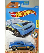 2017 Hot Wheels #193 Muscle Mania 10/10 D-MUSCLE Blue w/Gray MC5 Spoke W... - $7.00