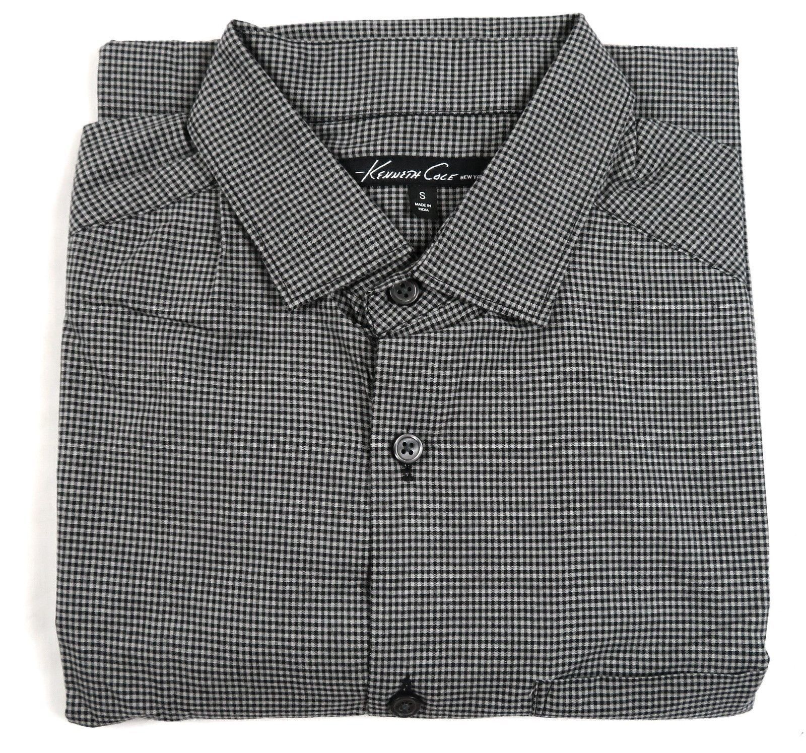 Kenneth Cole New York Shirt Men's Long Sleeve Button-down #42