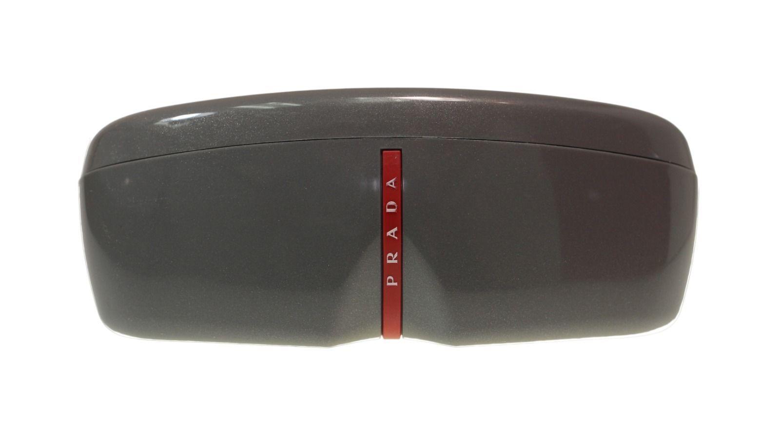 Prada Men Sunglasses PS54SS 5AV6U0 Gunmetal/Grey Rose Mirror Gold Lens 59mm