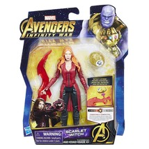 Marvel Avengers:hasbro Infinity War Scarlet Witch with Infinity Stone - $13.81