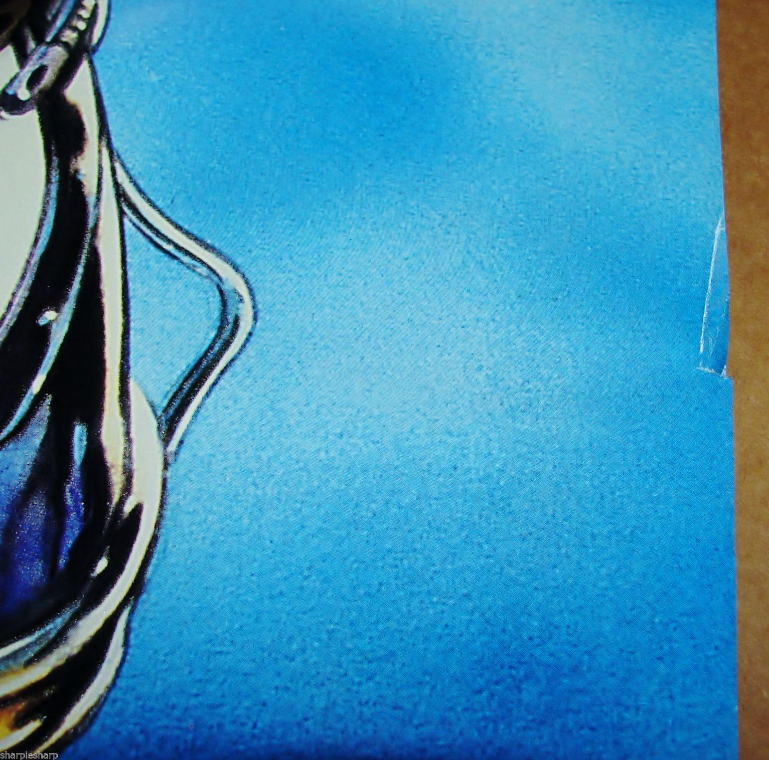 "1997 BATMAN & ROBIN Movie MR. FREEZE GLOW IN THE DARK POSTER 23x34.5"" 30-007 1"