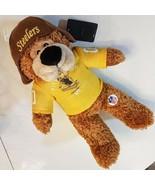 "2010 Pittsburgh Steelers Plush Toy Steely McBeam Good Stuff 14"" Bear NFL... - $19.80"