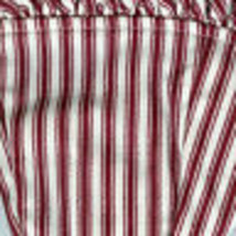 Longaberger 1994 Sweetheart Forever Yours Red White Stripe Fabric Liner Only - $19.75