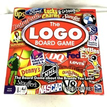 The Logo Board Game Spin Master 2011 All About The Brands You Love - $28.80