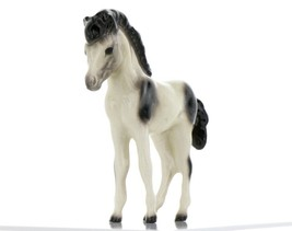 Hagen Renaker Miniature Horse Pony Pinto Colt Ceramic Figurine Boxed
