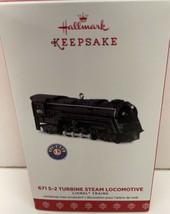 Hallmark 2017 LIONEL 671 S-2 Turbine Steam Locomotive NIB - $10.84