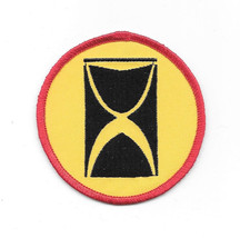 Time Tunnel TV Series Logo Embroidered Patch NEW UNUSED - $7.84