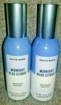 NEW 2-Pack MIDNIGHT BLUE CITRUS Concentrated Room Spray Bath & Body Works - $20.00