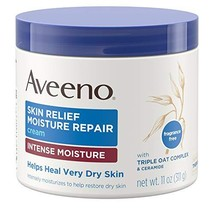 Aveeno Skin Relief Intense Moisture Repair Cream with Triple Oat Complex, Cerami
