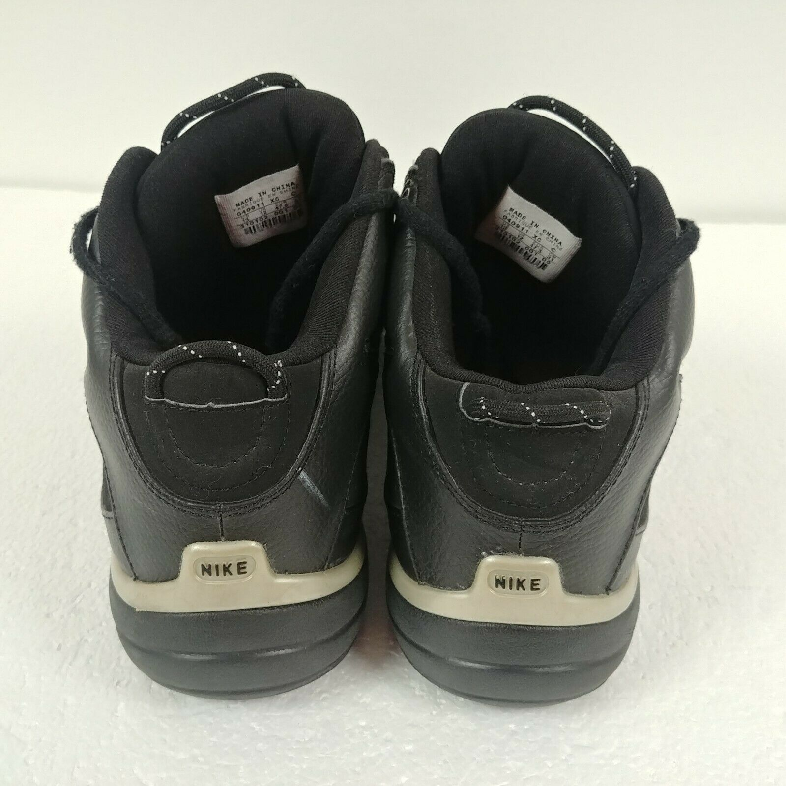 Nike Flight Fury Basketball Shoes Black 310102-001 Mens Size 13 Athletic Train image 3