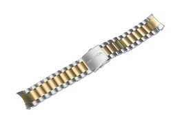 Nautica Men's N23602G | A23602G NCT 800 Two-Tone Steel 22mm Watch Bracelet - $43.10 CAD