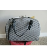 BNWT Micheal Kors Grayson Large Satchel, Women, Grey & Black, $328 - $148.49