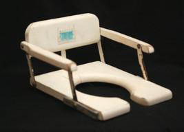 Old Vintage Retro 1950 60s Toidey Child Potty Training Wooden Chair Seat... - $29.69