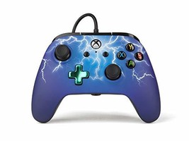 PowerA Enhanced Wired Controller for Xbox One - Spider Lightning - Xbox One - $36.40