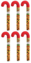 Lot of 6 Hershey's Reese Pieces Peanut Butter Holiday Candy Canes 1.4oz 12/2020