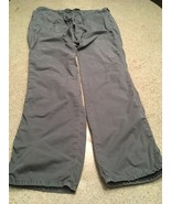 Men's J. Brand 100% Cotton Gray Cargo Pants With Drawstring (L) - $23.38