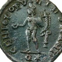 GALERIUS / Genius Male figure. Rome mint Ancient Imperial Follis Coin - $98.10