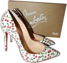 Christian Louboutin PIGALLE Follies Pumps Pointy Toe Shoe Calf Leather C... - $439.00