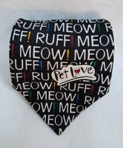 Dog and Cat Lovers Veterinarians Classic Necktie Hallmark Pet Love Meow Woof - $12.99